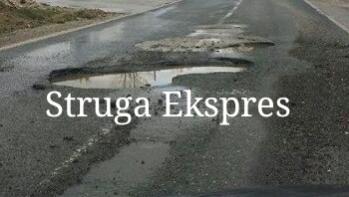 """Ja si përfundojnë makinat në rrugën e """"zezë"""", Strugë-Qafethanë (FOTO)"""
