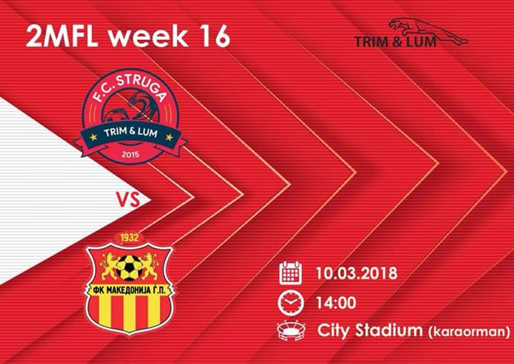 F.C.STRUGA nesër do të kërkojë fitoren e parë në stadiumin e Karaormanit, hyrja e lirë (FOTO)