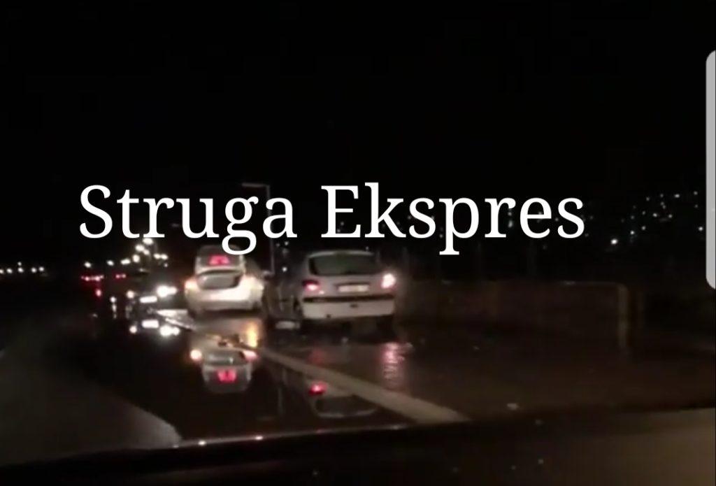 Vazhdon tmerri me gropat në rrugën Strugë-Qafethanë, ja sa makina u dëmtuan (FOTO)