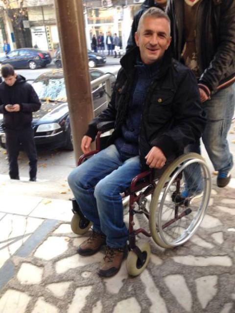 Ish-ushtari i dy luftërave të UÇK-së ka përfunduar në karrocë në burgun e Idrizovës (FOTO)