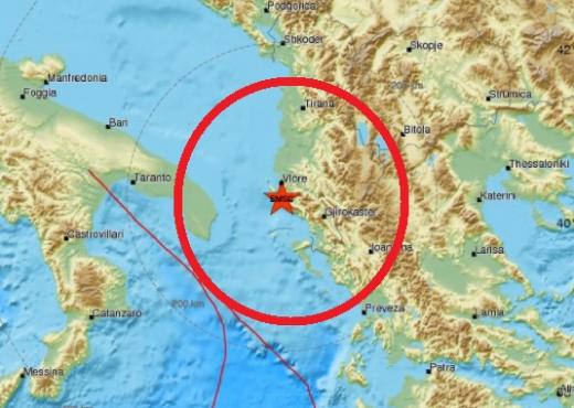 E FUNDIT/ Tërmeti i fuqishëm shkund jugun e Shqipërisë (FOTO)