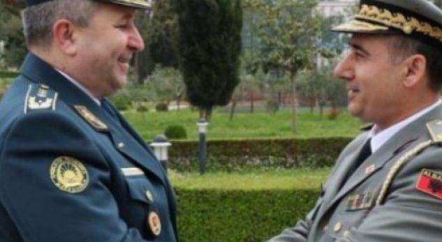 Përforcohet bashkëpunimi ushtarak në mes Maqedonisë dhe Shqipërisë