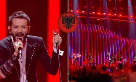 Shqipëria kap finalen e Eurvizionit me super këngëtarin Eugent Bushpepa