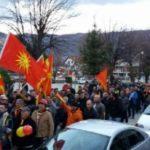 Protesta në Ohër, kundër ndryshimit të emrit
