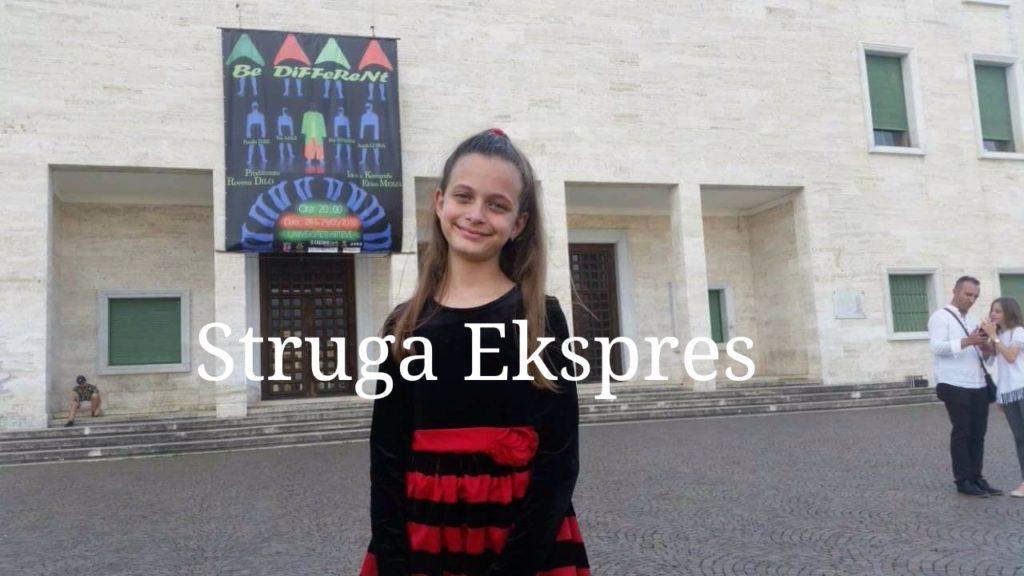 Struga Ekspres: Faleminderit Xhevrie Tule! Evropa ka një yll në Strugë (FOTO)