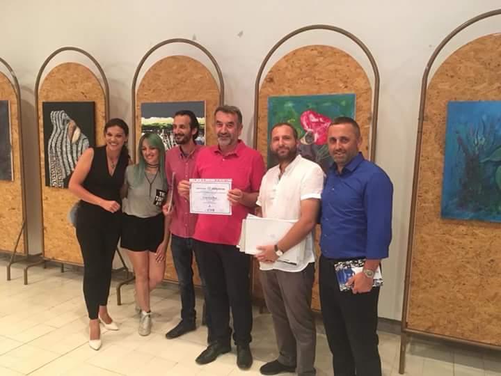 """Struga nikoqire e Simpoziumit të 2-të ndërkombëtar të artit """"Struga 2018"""" (FOTO)"""