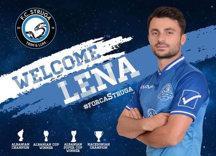 """Lajmi i fundit: Nijas Lena i bashkohet ekipit të """"FC STRUGA"""""""