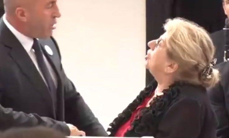 140 vjetori i Lidhjes së Prizrenit, Haradinaj largon gruan nga foltorja