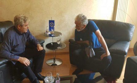Lebit Murtishi takohet me Ali Ahmetin