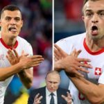 """""""Shqiponja e Xhakës dhe Shaqirit nervozon edhe Putinin"""""""