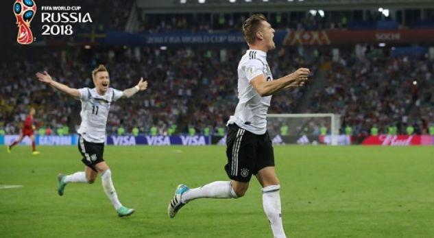 Toni Kroos ia shpëton Botërorin Gjermanisë me një gol të vonshëm ndaj Suedisë