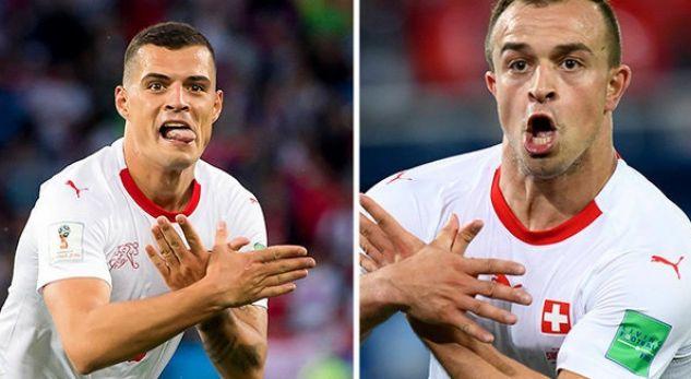 Ylli i Zvicrës mbron Xhakën dhe Shaqirin: Serbia i provokoi para ndeshjes