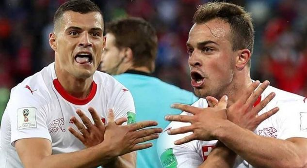 """""""Çmenden"""" komentatorët e Zvicrës pas golave të Shaqirit e Xhakës (VIDEO)"""