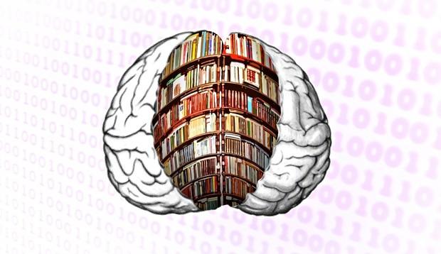 Truri i njeriut mund të ruajë mbi 4.7 miliardë libra