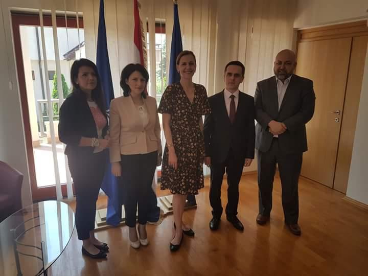 Bilall Kasami takon ambasadoren kroate në Shkup