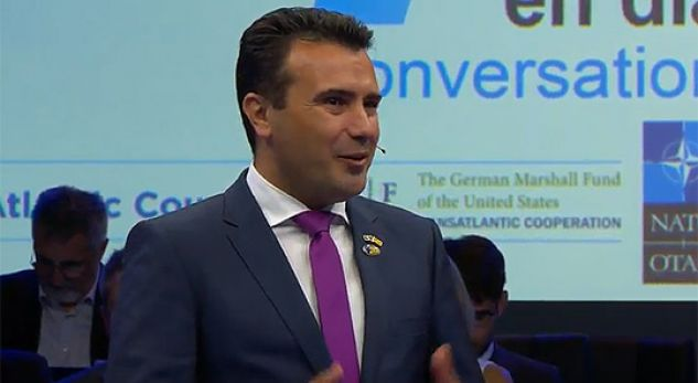 Zaev: Gëzohu Maqedoni, NATO i hapi dyert