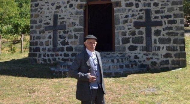 Plaku mysliman që ndërtoi i vetëm një kishë