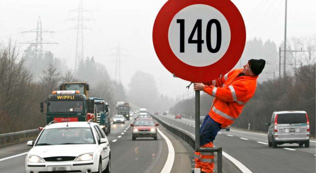 Në Bern të Zvicrës mund të qarkullosh me makinë me 140 km/orë