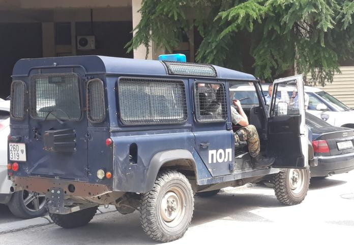 Sulmohet në mal patrulla e policisë maqedonase
