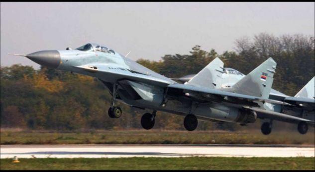Avionët ushtarakë serbë sërish mbi Preshevë