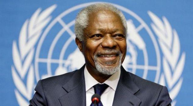 Vdes Kofi Annan, ish sekretari i përgjithshëm i OKB'së