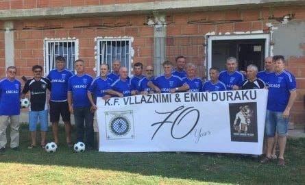 """Klubi i suksesshëm """"KF Vllaznimi"""" i Strugës feston 70 vjetorin"""