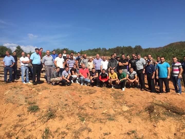 Dollogozhda sot protestoi për të mbrojtur pyllin (FOTO)