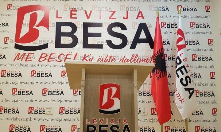 Lëvizja Besa zgjedh slloganin për fushatën e referendumit!