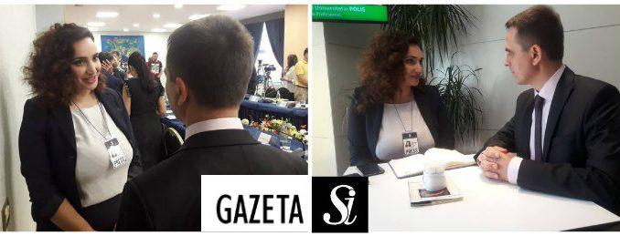 """Intervistë me kreun e opozitës shqiptare Bilall Kasamin nga Xhuliana Toci për """"Gazetën SI"""""""