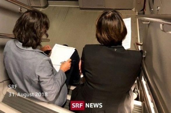 Ministrja zvicerane ulet në shkallë të vagonit pasi nuk kishte vend të mjaftueshëm