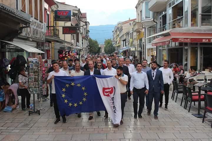 """Nga Struga, Besa e Gashit  i thotë """"PRO"""" referendumit (FOTO LAJM)"""