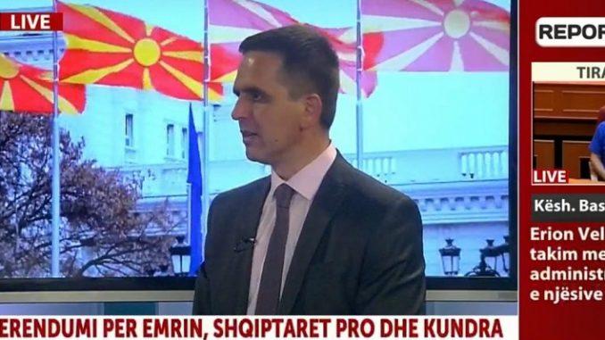Kasami për Report TV: Shqiptarët të votojnë pro, ja dy kërkesat që kemi