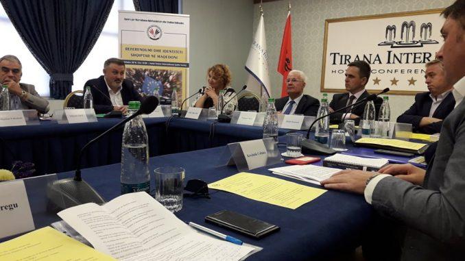 Ja çfarë deklaroj lideri i Besës Bilall Kasami, në konferencën e Tiranës (FOTO)
