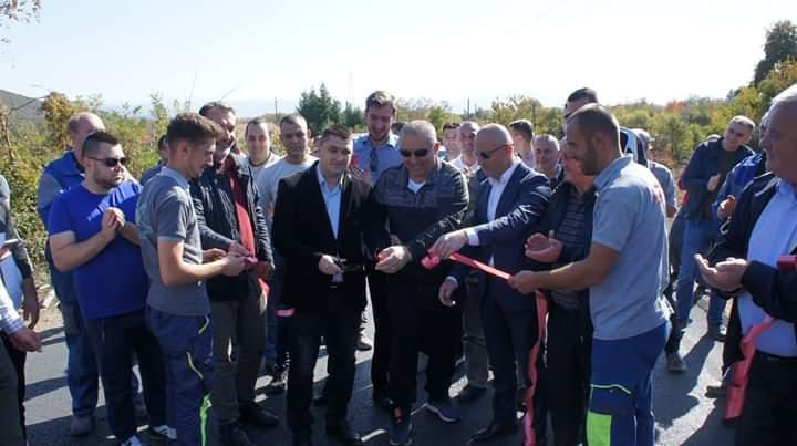 Në Llabunisht filloi ndërtimi i rezervuarit të dytë të ujit të pijshëm (FOTO)