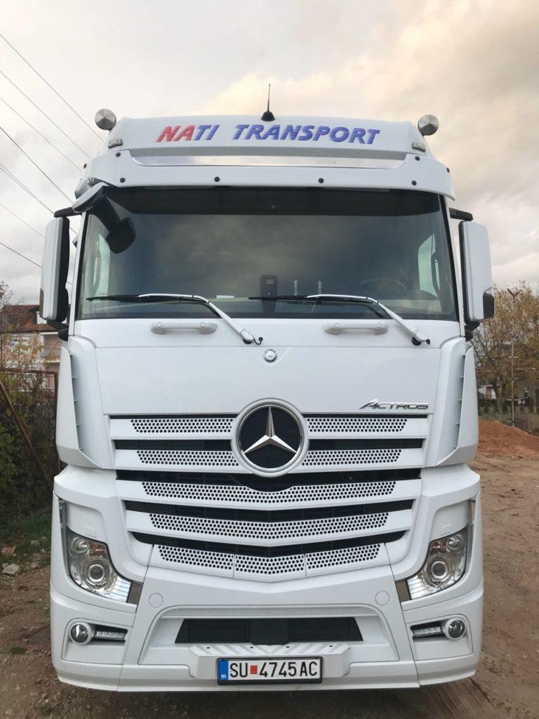 Mallrat dhe makinat nga Zvicra tani i trasporton NATI-TRANS-Strugë! Shërbim i shpejtë dhe sigurtë (FOTO)