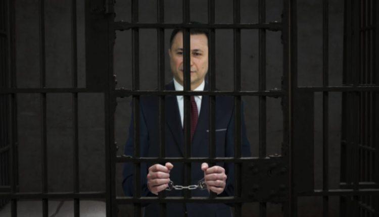Gruevski, më 8 nëntor shkon në burgun e Shutkës