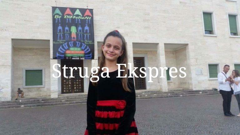 11 vjeçarja Xhevrie Tule është një yll i madh që e ka Evropa në Strugë (FOTO)