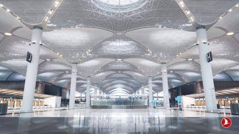 Aeroporti i ri i Stambollit do të ketë 33 xhami