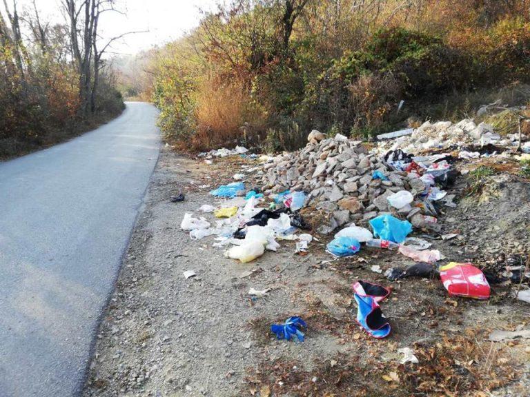 Komunalja dhe Proaqua sot pastroi deponitë e egra në Strugë (FOTO)