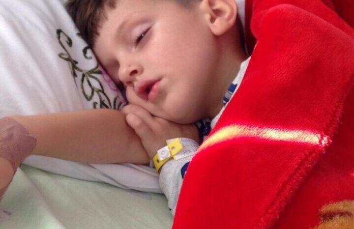 4-vjeçari vuan nga kanceri në veshkë, një shpërndarje nga ju është shpresë për Hasanin