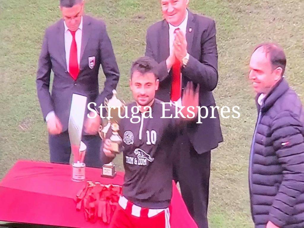 """Nijas Lena zgjidhet lojtari më i mirë i turneut """"Kupa Pavarësia"""" në Korçë (FOTO)"""