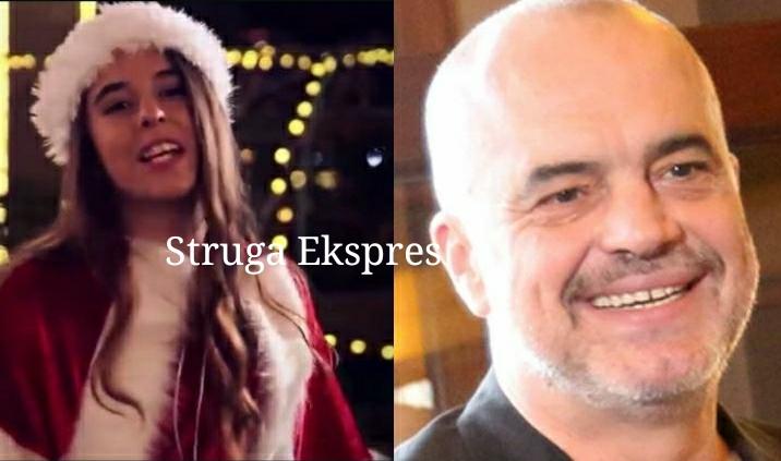 Me këngën e vogëlushes strugane Ëmbla Qyra, Edi Rama uron shqiptarët për festat e fundvitit (FOTO VIDEO)
