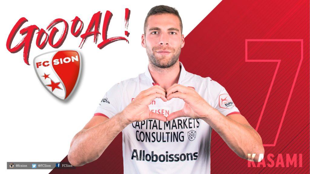Strugani Pajtim Kasami shënon supergol dhe asiston në fitoren e Sionit ndaj Luzernit (VIDEO)