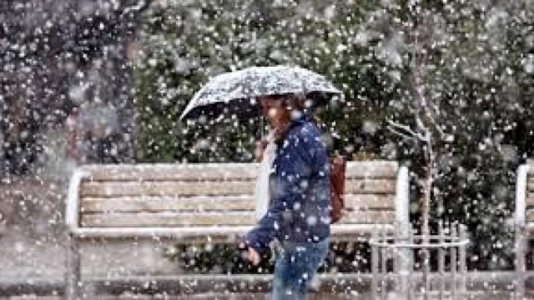 Prej të shtunën borë dhe shi në Maqedoni