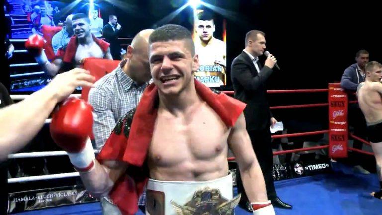 Florian Marku debuton në boks, nokauton serbin në raund të parë (FOTO)