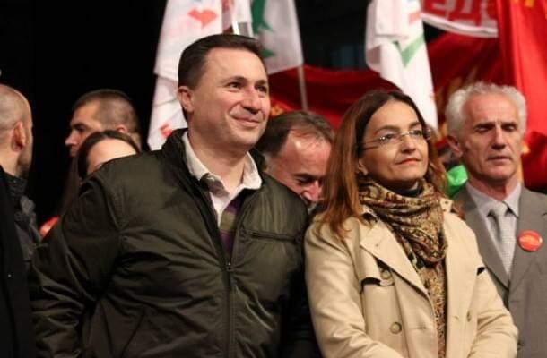 Jankullovska sulmon Gruevskin, lehtë është 800 km larg Maqedonisë të shkruash statuse