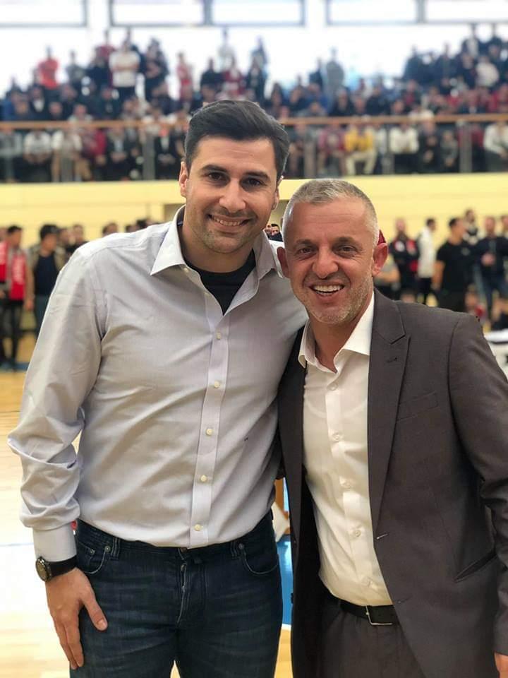 Halil Kastrati dhe Lorik Cana, bashkë në Zvicër për bamirësi (FOTO)