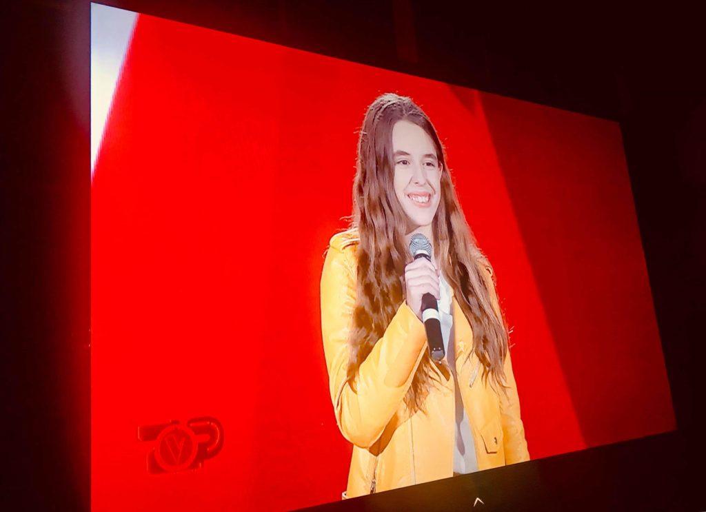 Ëmbla Qyra, vogëlushja strugane korri sukses në The Voice Kids Albania