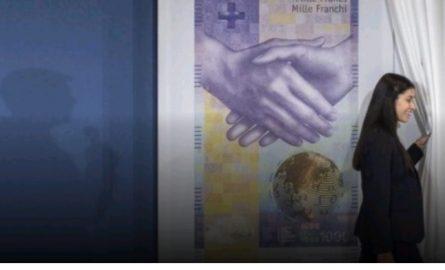 Kjo është 1 mijë franga e re e Zvicrës (FOTO)