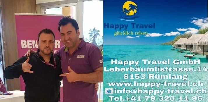 """Shpendim Aliu nga Ladorishti i Strugës drejton në Zvicër agjensionin """"Happy Travel GmbH"""". Vizito vendet më të bukura të botës me çmimet shumë të lira (FOTO)"""